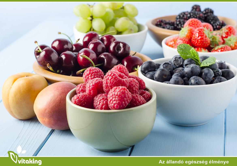 Bogyós gyümölcsök a rákmegelőzésben
