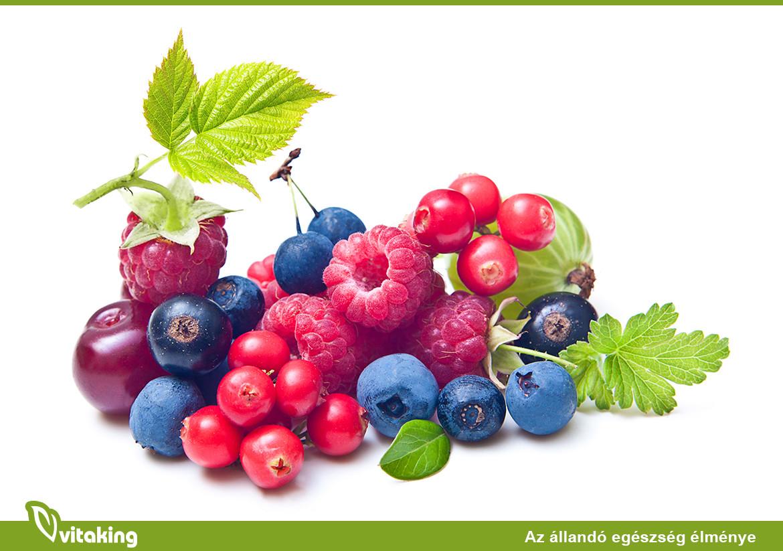 Bogyós gyümölcsök a rák megelőzésben