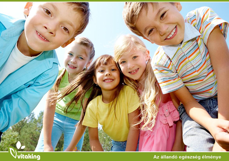 Immunerősítő tápanyagok gyerekeknek