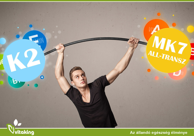 Miért vitaMK7® van a Vitaking K2-vitamin kapszuláiban?