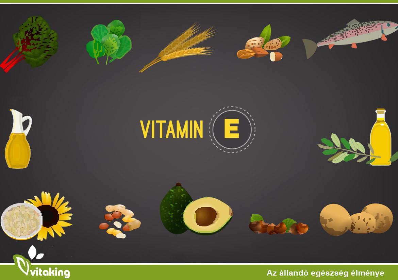 Az E-vitamin hiányának 4 jele és tünete