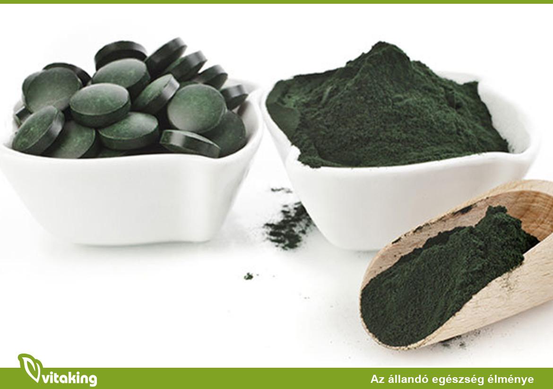 Méregtelenítés algákkal