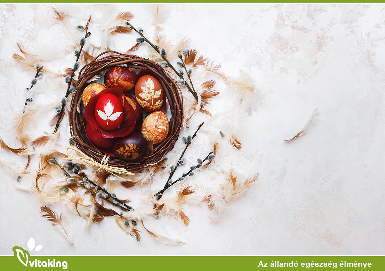Húsvéti Tojásfestés Természetesen, Egészségesen