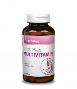 9 hónap multivitamin (60) - vitamin kiegészítés a várandósság időszakára