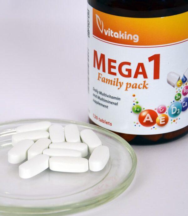 Mega1 multivitamin