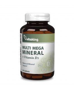 Multi Mega Mineral - Ásványi anyag komplex