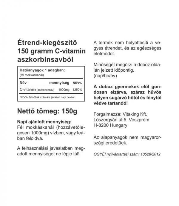 Vitaking Aszkorbinsav 150 g