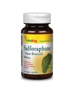 Vitaking Brokkoli kivonat (szulforafán 400μg) BroccoPhanne®
