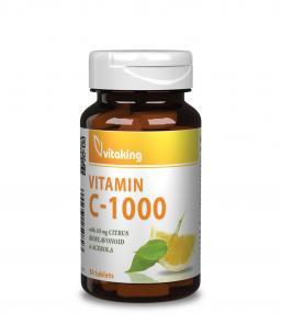 Vitaking C-vitamin + bioflavonoid + acerola + csipkebogyó (30)