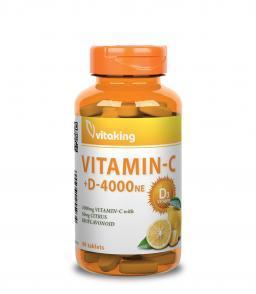 C- és D-vitamin komplex - Vitaking C1000 + D4000