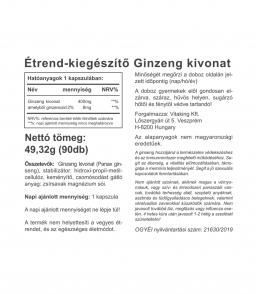 Vitaking Ginzeng kivonat 400mg (90)