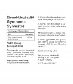 Gymnema Sylvestre 400mg - természetes, növényi étvágycsökkentő