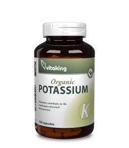 Vitaking Kálium 99mg (100 db) a normál vérnyomás fenntartásához