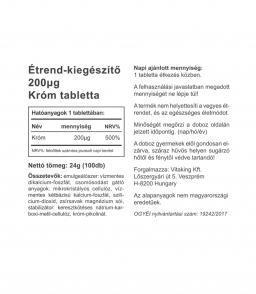 Vitaking Króm (pikolinát) 200mcg