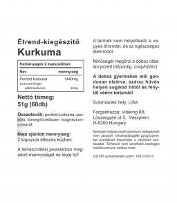 Vitaking Kurkuma 720mg