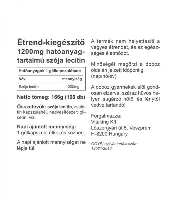Vitaking ® Lecitin 1200mg