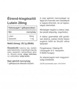 Vitaking Lutein és zeaxantin komlplex (20 mg luteinnel)