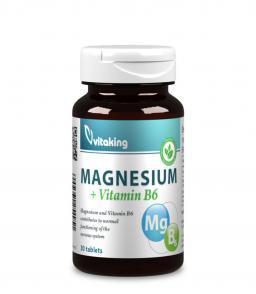 Vitaking Magnézium + B6 (1054mg szerves magnézium citrátból)