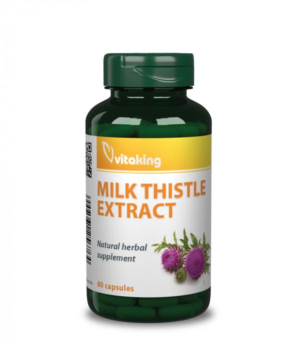 Vitaking® Máriatövis mag (500mg) - a máj méregtelenítéséhez