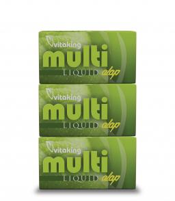 Vitaking Multi Liquid Alap multivitamin (180 lágy zselékapszulában)