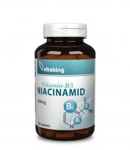 Vitaking Niacinamid (B3 vitamin) 500mg (100db) vitaking.hu