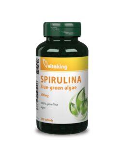 Vitaking 100% Spirulina alga 500mg (200 db)