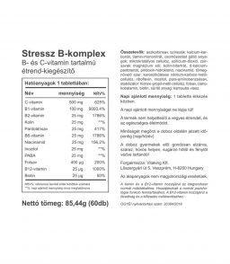 Vitaking® Stressz B-komplex - vásárlóink kedvence!