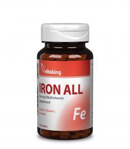 Vitaking Vas komplex- B-vitaminokkal + C-vitaminnal!