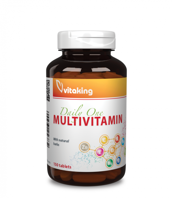 Vitaking Daily One multivitamin + gyógynövény komplex