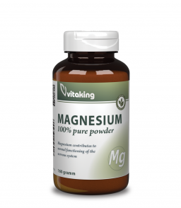 Vitaking Magnézium citrát por 160g