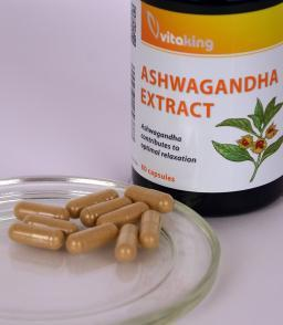 Vitaking Ashwagandha kivonat 240mg (withanolid tartalom 12mg)