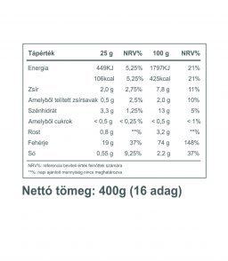 Vegán Protein 400g (borsó és rizsfehérje) csoki-fahéj ízben