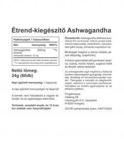 Vitaking Ashwaganda kivonat 240mg (withanolid tartalom 12mg)
