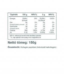Vitaking natúr Halkollagén 150g (hidrolizált halkollagén)