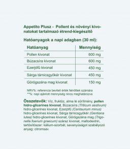 Vitaking Appetito Plus (200ml) az egészséges étvágyért és emésztésért!